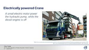 volvo trucks sweden volvo trucks per uno sturk volvo trucks quiet cities u2013 enabling