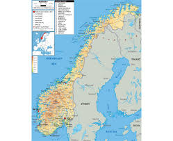 Map Og Maps Of Norway Detailed Map Of Norway In English Tourist Map