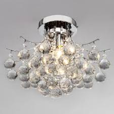 Crystal Flush Mount Ceiling Light Fixture by Cheap Flush Mount Crystal Light Fixture Find Flush Mount Crystal
