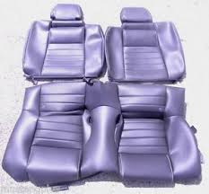2010 mustang seat covers 2010 2014 mustang gt500 black leather rear only seat covers oem