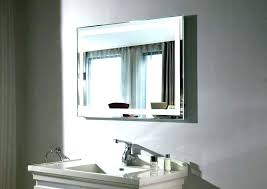 Lighted Bathroom Wall Mirrors Commercial Bathroom Mirrors Home Depot Lighted Wall Mirror Large