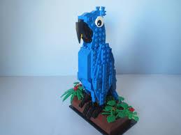 lego ideas blu from rio