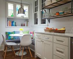 built in breakfast nook and cabinets houzz