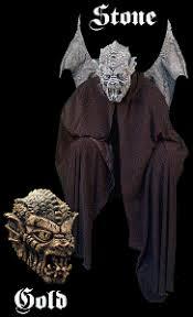 Gargoyle Costume Amazon Com Disc Gargoyle Halloween Costume And Mask