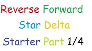 star delta reverse forward wiring diagram youtube video