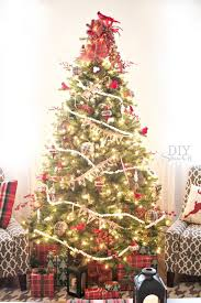 christmas how to put lights on christmas tree best lighted trees