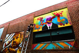 new sean aye mural in fishtown streets dept check out pervious front street wall murals by ant carver kid hazo amberella and nda by clicking their names