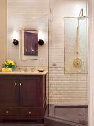 wall tile ideas for small bathrooms three quarter bathrooms hgtv
