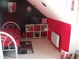 chambre gris et rouge chambre moderne grise rouge design de maison