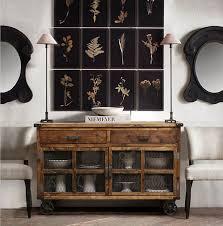 Kitchen Console Table With Storage American Wood Sideboard Restaurant Furniture Kitchen Storage Rack
