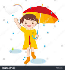 rain child umbrella stock illustration 137663861 shutterstock