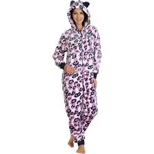 onesies soft fleece all in one suit womens cosy warm