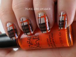 thanksgiving nail art tutorial peace love lacquer thanksgiving nail art challenge day 3 brown