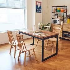 tinwood scandi industrial merbau dining table 1400 dining tables