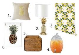 Pineapple Home Decor Home Decor Gets Fruity Makeover Girls Of T O