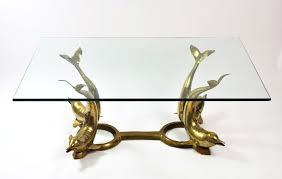 Oval Glass Top Coffee Table Coffee Table Furniture Oval Glass Top Coffee Table With Brass