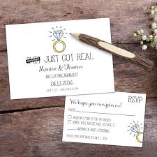 save the date rsvp custom cards engagement wedding