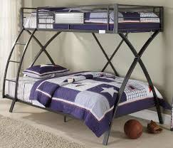 metal bunk bed twin over full modern easy painted metal bunk bed