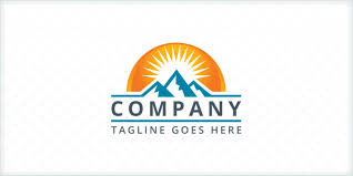 company logo templates mountains logo template company logo templates codester