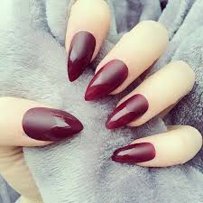 maroon stiletto nails pictures photos and images for facebook