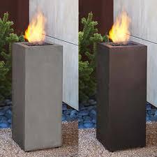 Flame Gas Patio Heater Patio Heaters U0026 Fire Columns Costco