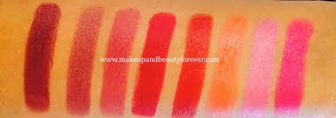 all lakme absolute matte lip colours review swatches shades