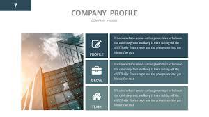 company profile google slides presentation template by gardeniadesign