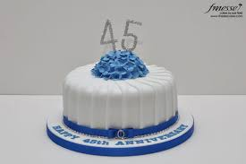 45 wedding anniversary 8 45 wedding anniversary cakes photo 45th wedding anniversary