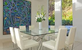 Square Glass Dining Table 15 Shimmering Square Glass Dining Room Tables Home Design Lover