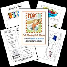 free flat stanley unit study lessons and lapbook printables free