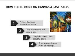 canvas oil painting techniques