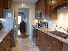 remodel galley kitchen ideas best choice of 1960 s small galley kitchen remodeled before and