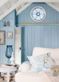 lake cottage late summer beachy decor house tour entry hall