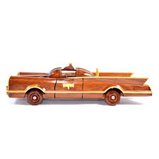 wooden pickup truck batman authentic 1966 batmobile wooden car model hand carved