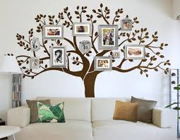 family tree vinyl wall decal decorating home ideas stunning