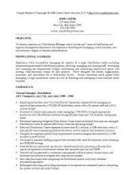 resume examples for management manager resume example business
