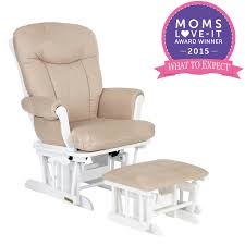 Jcpenney Glider Rocker by Shermag Glider Rocker And Ottoman White Pearl Fabric Shermag