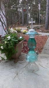 Garden Art To Make - 328 best glass totems images on pinterest garden totems glass
