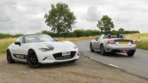 formula mazda for sale abarth 124 spider vs mazda mx 5 bbr twin test review by car magazine
