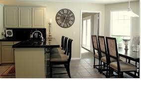 Kitchen Wall Painting Ideas Painted Wall Clock It Works Too