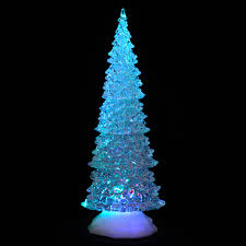 light up acrylic tree ornament decoration colour