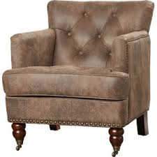 Brown Accent Chair Rustic Accent Chairs Joss U0026 Main