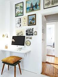 Wall Mounted Desk Ideas Best Wall Mounted Desk Ideas On Space Saving Desks Door U2013 Bitadvice