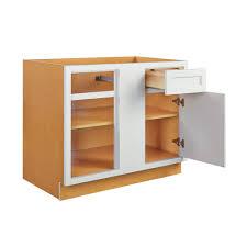 36 inch base kitchen cabinets blind corner base left or right vintage white inset raised panel blind 36 inch