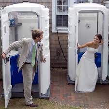wedding porta potty the source for luxury portable restrooms