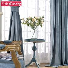 Hotel Room Darkening Curtains New Arrive Modern Solid Velvet Blackout Curtains For Living Room