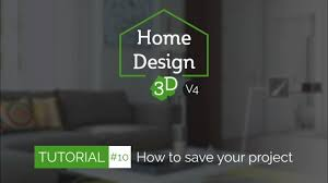 home design 3d tuto 10 how to save share your project youtube