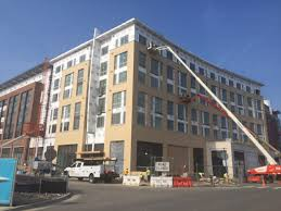 Red Roof Alexandria Virginia by Notch 8 Apartments Making Progress In Potomac Yard In Alexandria
