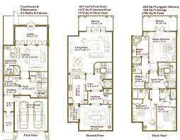 townhouse designs and floor plans luxury townhome floor plans search home floorplans