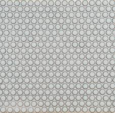 ann sacks savoy penny round ceramic mosaic in cottonwood graphic